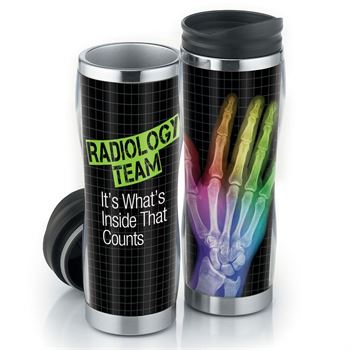 Radiology It's What's Inside That Counts Insulated Tumbler