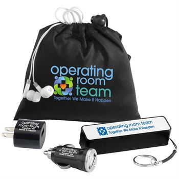 Operating Room Team Together We Make It Happen 5-Piece Mobile Accessory Kit