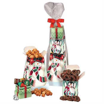 Winter Pals Snack Tower