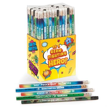 Germ Fighting Hero Pencil Collection