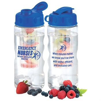 Emergency Nurses When Minutes Matter Fruit Infuser Water Bottle