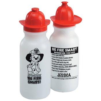 Fire Helmet Water Bottle