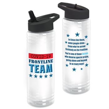 COVID-19 Frontline Team Solara Water Bottle 24-Oz.