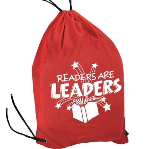 Readers Are Leaders Drawstring Backpack