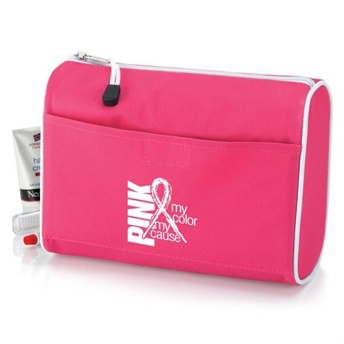 Pink Amenity Bag - Personalization Available