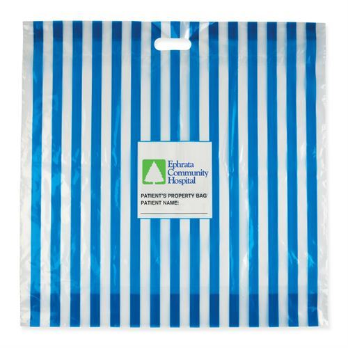 Fully Custom Patient Belongings Bag