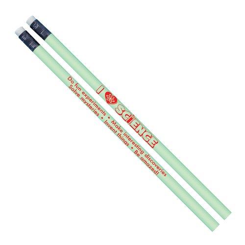 I Love Science Glow-In-The-Dark Pencil