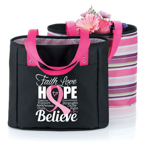 Faith Love Hope Believe - Cambio Reversible Tote