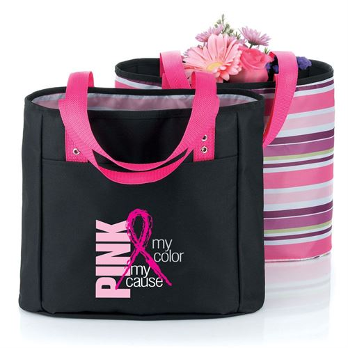 Pink My Color My Cause - Cambio Reversible Tote
