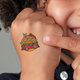 Junior Firefighter Temporary Tattoo (Fire Truck)