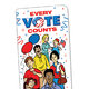 Every Vote Counts Bookmark - Personalization Available