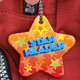"Star Reader Award Tag With 4"" Chain"