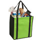 Non-Woven Two-Tone Grocery Tote - Personalization Available
