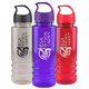 24-oz. Tritan ™ Salute Water Bottle With Crest Lid - Personalization Available