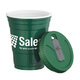 16-Oz. BPA Free Double Wall Game Day Cup With Lid - Personalization Available