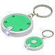 Round Simple Touch LED Key Chain - Personalization Available