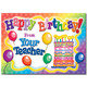 Happy Birthday From Your Teacher Postcards