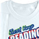 Just Keep Reading! (White) Youth T-Shirt - Personalization Available