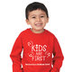 Cotton/Polyester Fleece Toddler/Child 7.5 Oz. Sweatshirt - Personalization Available