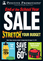 Click here to view our End Of The School Year Virtual Catalog