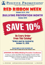Click Here to see our Red Ribbon Week & Bully Prevention Virtual Catalog