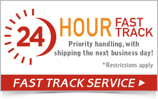 24 hour fast track service, exclusive 24 hour service