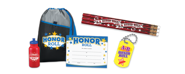 Reward your students with our exciting honor roll academic awards, recognize their academic excellence.