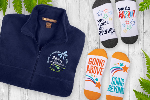 Employee Recognition and Appreciation Apparel Gifts