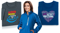 shop activity professionals appreciation apparel gifts. activity professionals recognition apparel gifts