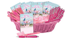 Click to see our Breast Cancer awareness display baskets & assortment packs