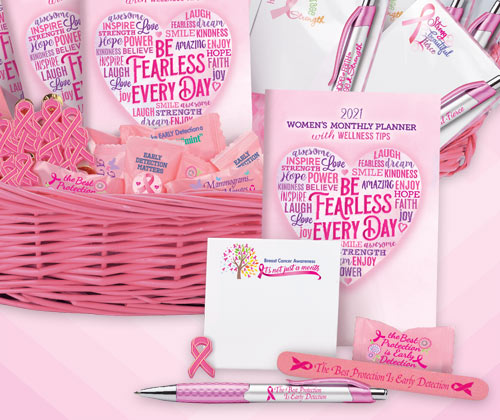 Breast Cancer Awareness Assortments and Fundraising Kits