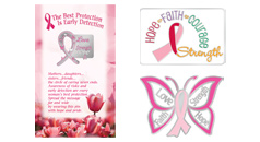 Click to see our exclusive designs of Breast Cancer Awareness lapel pins
