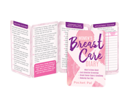 Breast Cancer awareness educational tools. Self-exam shower cards