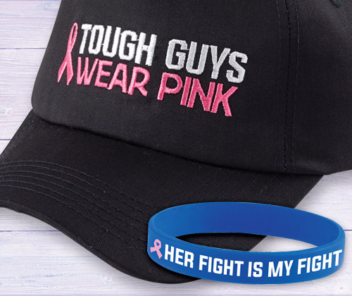 Breast Cancer Awareness products for men