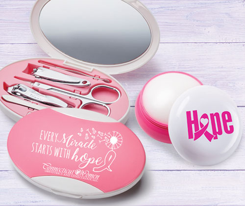 Breast Cancer Awareness personal care tools
