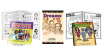 Activity books teach students about outstanding black leaders, institutions and milestones that transformed the nation.