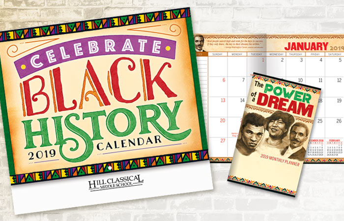 Black History Month Calendars and Planners
