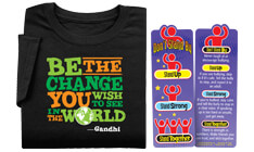 Click here to see our Culture diversity giveaways, including bookmarks, stickers & tattoos to help enrich your community