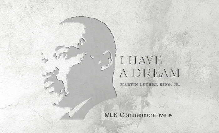 Black History Month MLK Commemorative