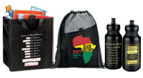 Click here to view our Black History Month bags & drinkware gifts.