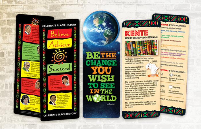 Click here to see our Black History Month giveaways, including bookmarks, stickers & tattoos.
