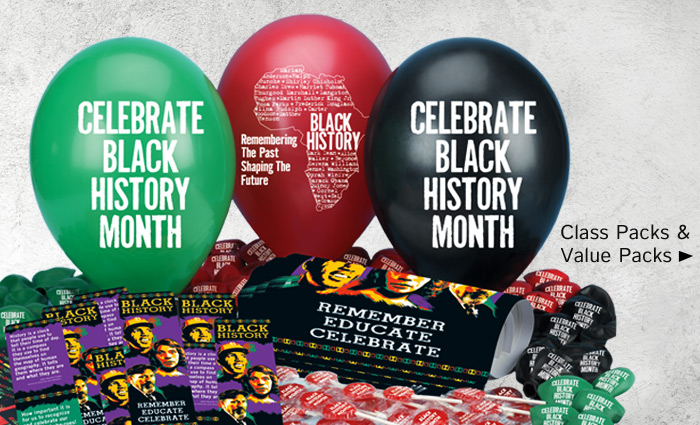 Black History Class Packs and Value Packs