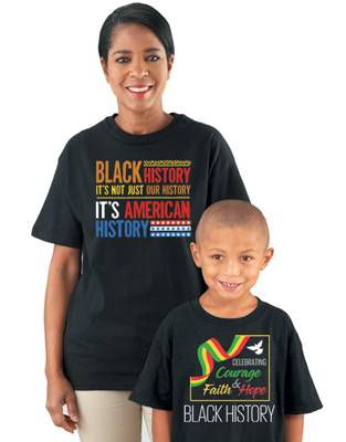 Black History Month T-Shirt Order Forms