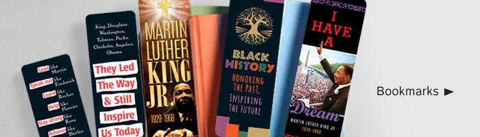 Black History Month bookmarks