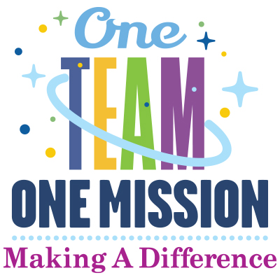 One Team One Mission Making A Difference Theme from Positive Promotions