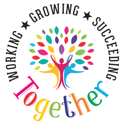 Working Growing Succeeding Together Theme from Positive Promotions