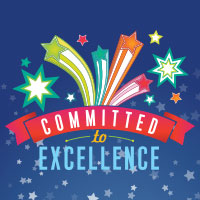 Committed to Excellence Theme from Positive Promotions