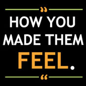How You Made Them Feel Theme from Positive Promotions