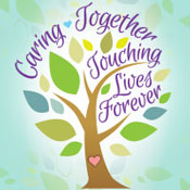 Caring Together Touching Lives Forever Theme from Positive Promotions