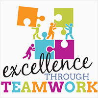 Excellence Through Teamwork Theme from Positive Promotions